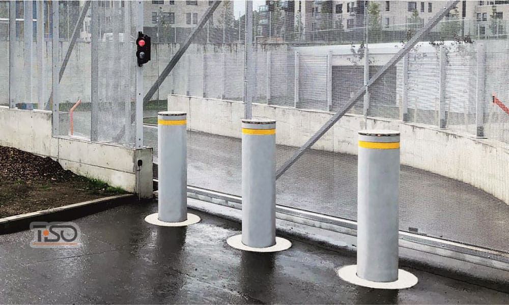 High security Automatic bollards